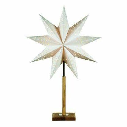 Świąteczny lampion Solvalla - drewniana podstawa
