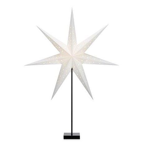 Gwiazda świąteczna Solvalla - czarna podstawa
