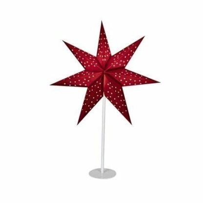 Czerwona gwiazda świąteczna Clara - lampa stołowa