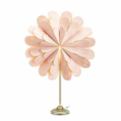 Dekoracyjna lampa stołowa Marigold - różowa