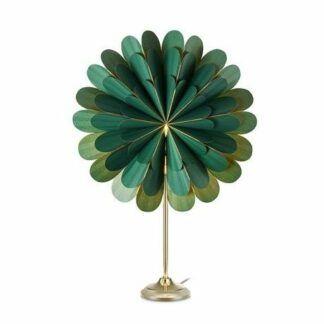 Zielona lampa stołowa Marigold - dekoracyjne oświetlenie