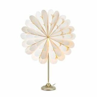 Lampa stołowa Marigold - biały klosz