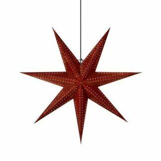 Brązowa gwiazda świąteczna Embla - lampion