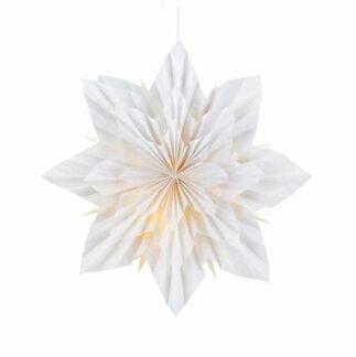 Biała gwiazda Neela - dekoracyjny lampion