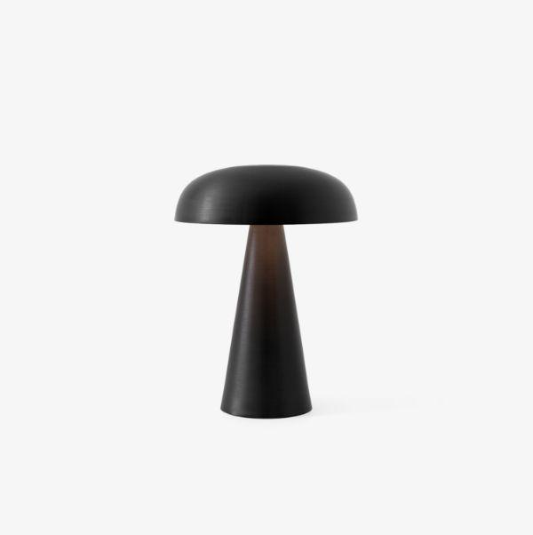 Mobilna lampa stołowa Como SC53 - na USB, czarna