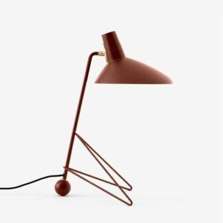 Stylowa lampa stołowa Tripod HM9 - czerwona