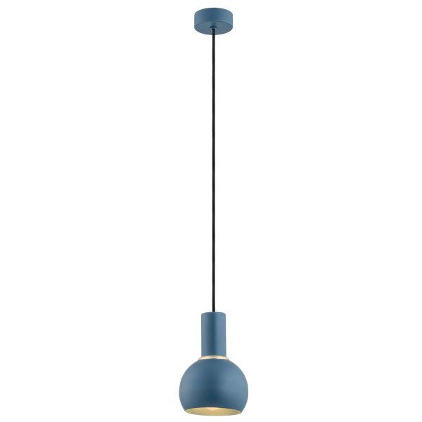 Lampa wisząca Sines - kula, granatowa