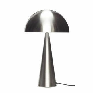 Wysoka lampa stołowa Cone - nikiel