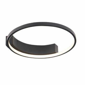 Czarna lampa sufitowa Velvet S - LED, 3000K