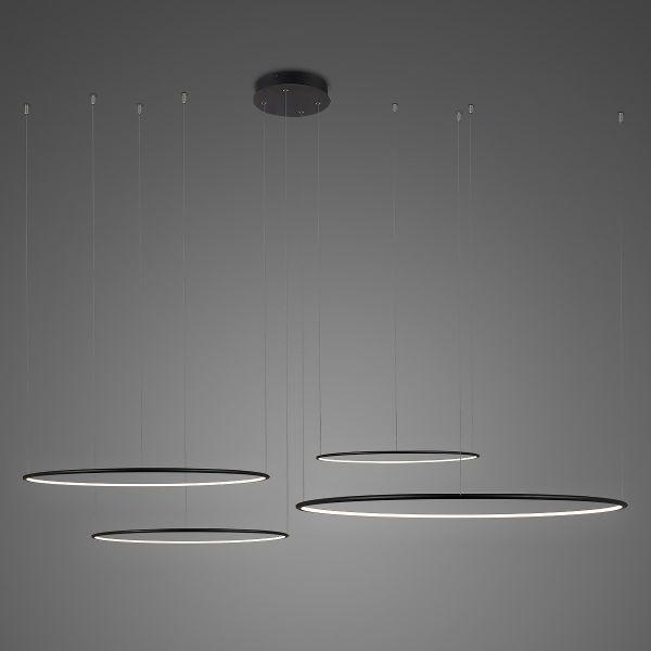 Duża lampa wisząca Shape No.4 CO4 - Φ100, ledowe okręgi