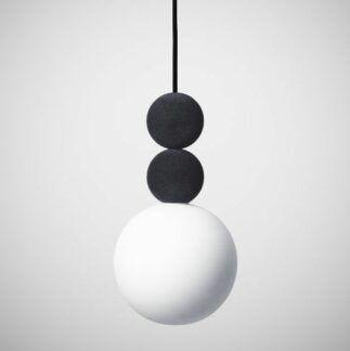 Lampa wisząca Bola Bola Velvet - 18cm, antracyt
