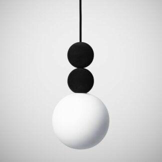 Lampa wisząca Bola Bola Velvet - 18cm, czarna