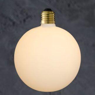 Dekoracyjna żarówka Globe 150 Porcelain - efekt porcelany