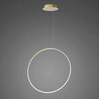 Złota lampa wisząca Shape No.1 X - Φ80, 3000K