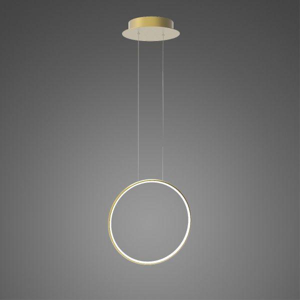 Złota lampa wisząca Shape No.1 X - Φ40, 3000K