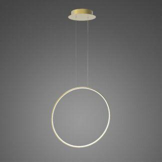 Złota lampa wisząca Shape No.1 X - Φ60, 3000K