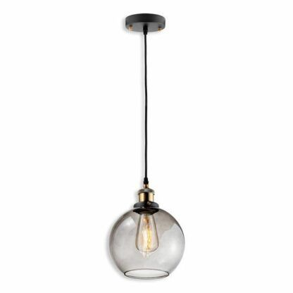 Lampa wisząca New York Loft No. 2 - dymione szkło