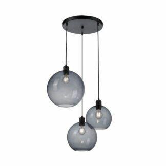 Lampa wisząca Gloss - 3 szklane klosze