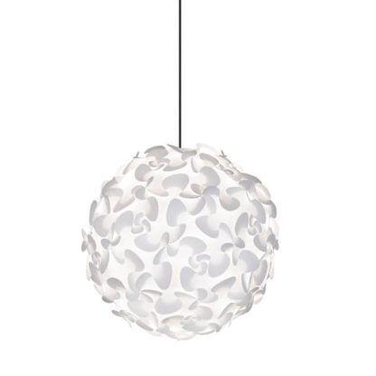lampa wisząca z białym kloszem, duża, styl skandynawski