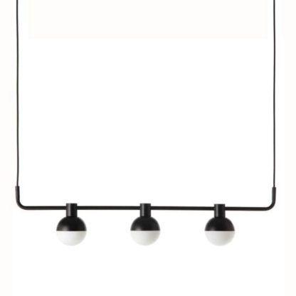 pozioma lampa wisząca, designerski, nowoczesny styl