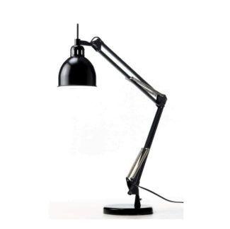Czarna lampa biurkowa Job - Frandsen Lighting - regulowane ramię