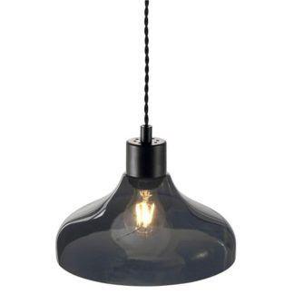Lampa wisząca Alrun - Nordlux - szare szkło
