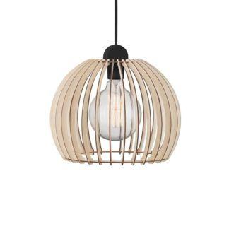Lampa wisząca Chino 30 - Nordlux - drewniana