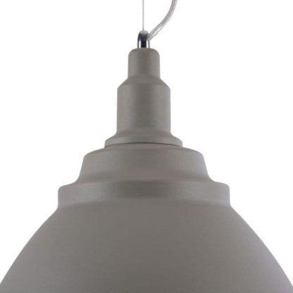 szara lampa wisząca