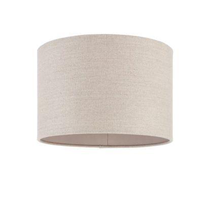 Abażur Obi do lamp Endon Lighting - lniany
