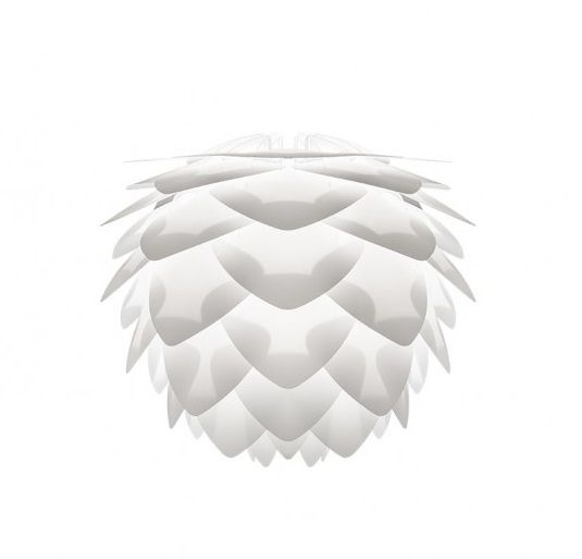 lampa wisząca w stylu skandynawskim, klosz z białych płatków -aranżacja salon scandi