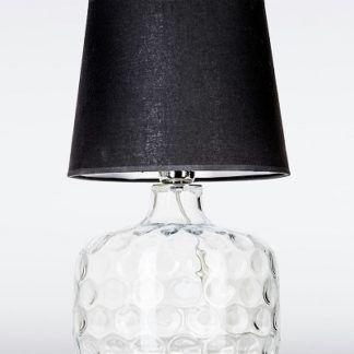 Lampa stołowa - Andorra 4concepts - czarny abażur
