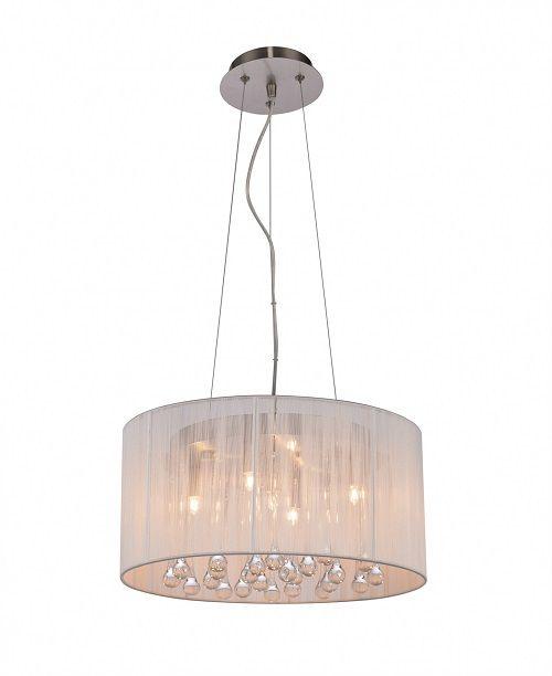 Lampa wisząca - Artemida 40cm - Zuma Line - tkanina