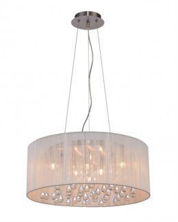 Lampa wisząca - Artemida 50cm - Zuma Line - tkanina