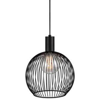 Ażurowa lampa wisząca - Aver 30 - DFTP - Nordlux - okrągły klosz