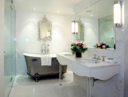kinkiet do białej łazienki
