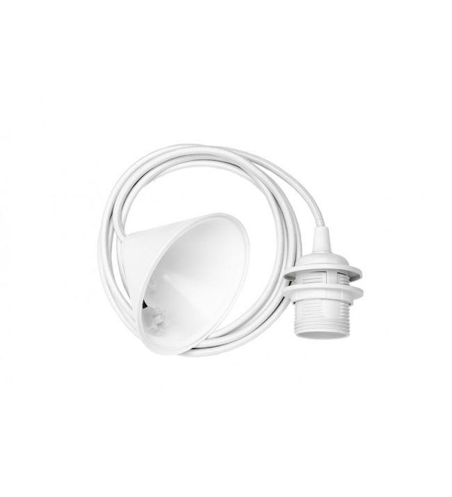 Białe zawieszenie do lamp marki Umage
