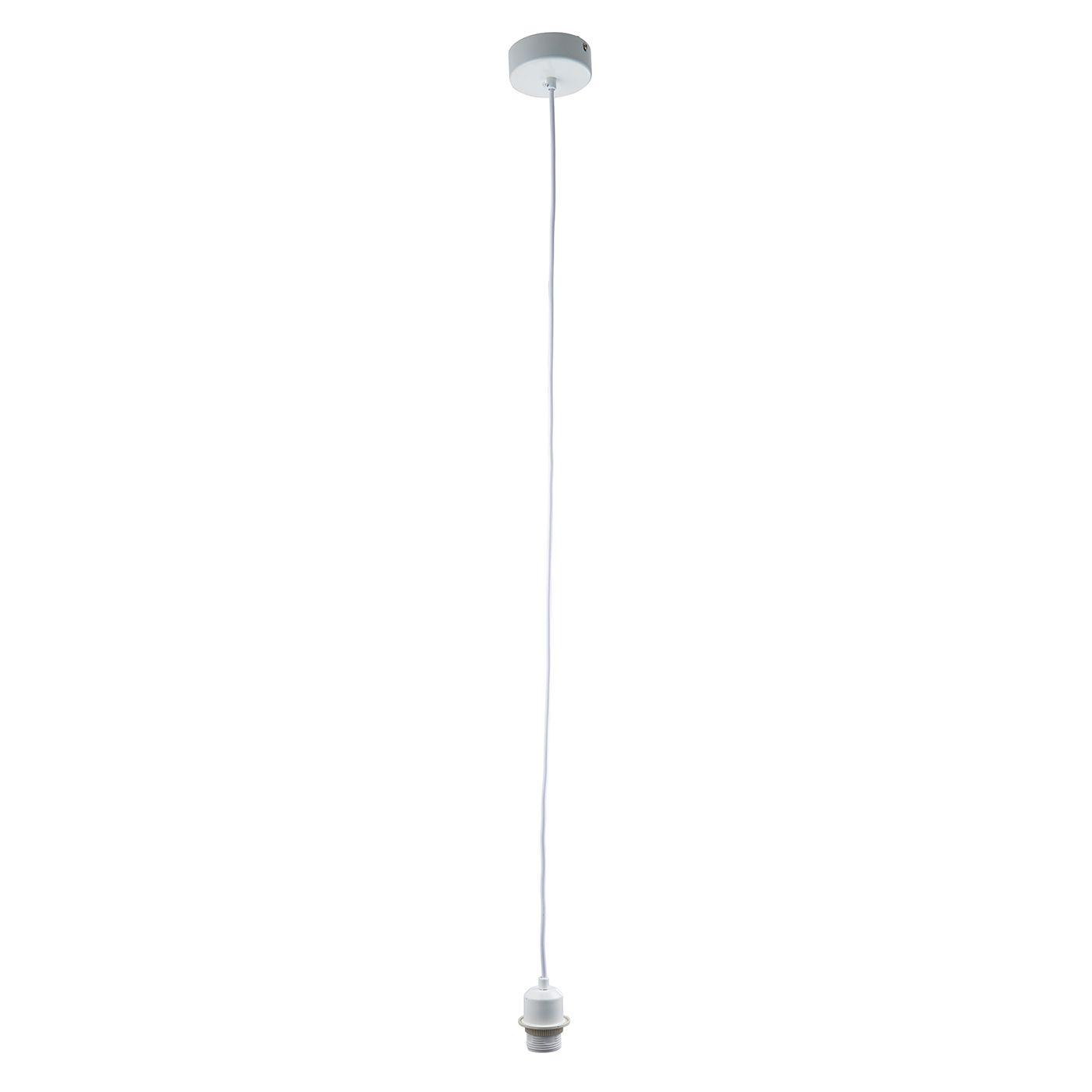 Białe zawieszenie do lamp marki Endon Lighting