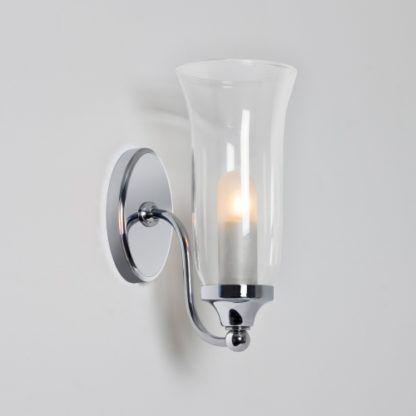Kinkiet Biaritz Astro Lighting szklany chrom