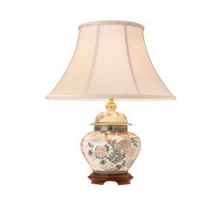 Lampa stołowa - Bird of Paradise - Kutani - Interiors - porcelana