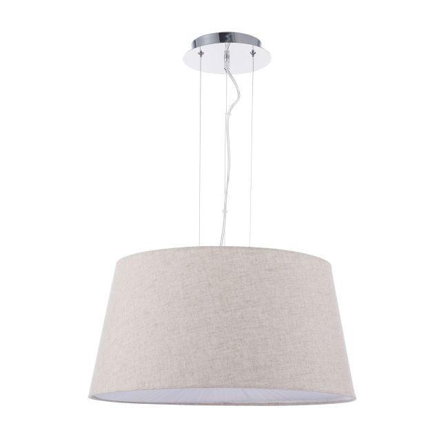 Lampa wisząca Calvin - Maytoni - biały abażur