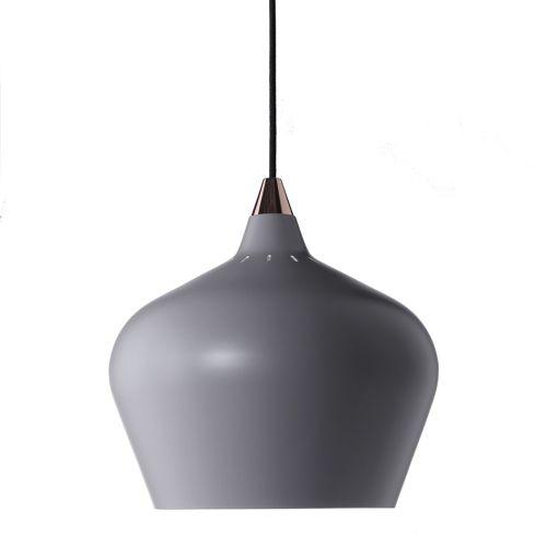 Lampa wisząca Cohen XL Frandsen Lighting - szara matowa