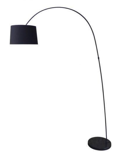 Lampa podłogowa - Constanza - Zuma Line - czarna