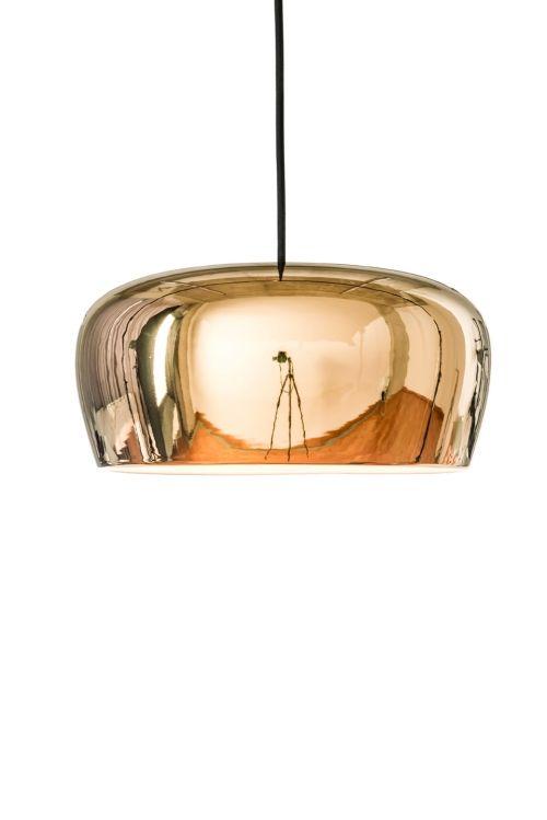 Lampa wisząca Copolla Formagenda złoto biel
