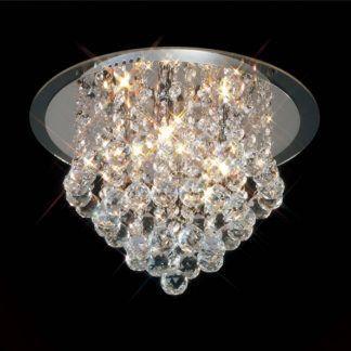 Lampa sufitowa kryształowa - Crystal Mantra