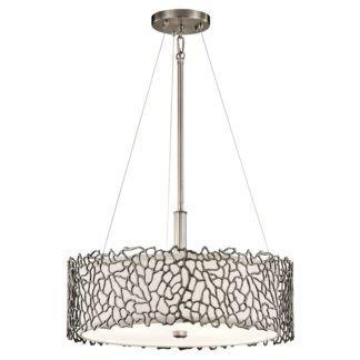 Dekoracyjna lampa wisząca Adeza - metalowa
