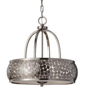 Dekoracyjna lampa wisząca - Wonder - srebrna