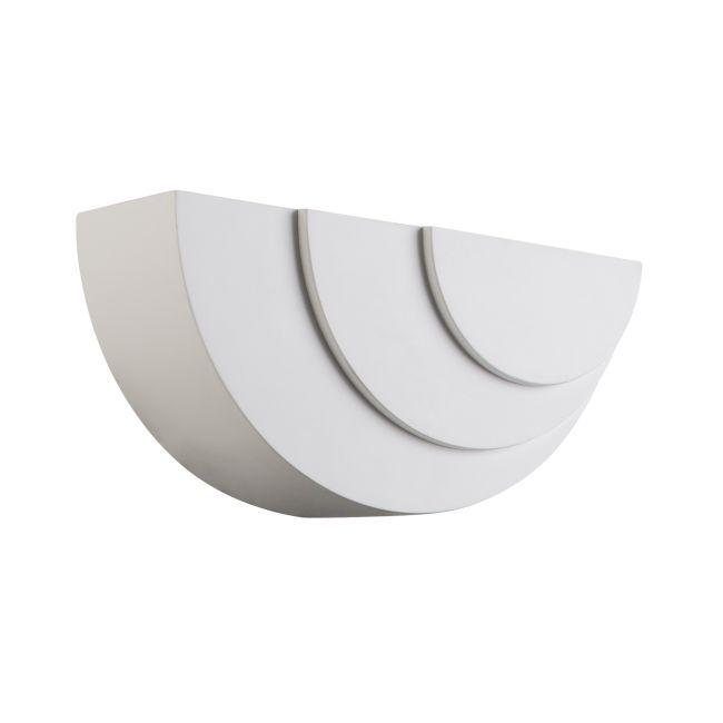 Dekoracyjny kinkiet Ripple - Endon Lighting - biały