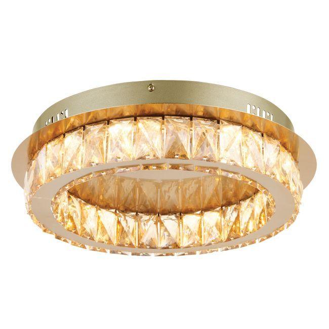 Dekoracyjny plafon Swayze - LED - Endon Lighting - mosiądz