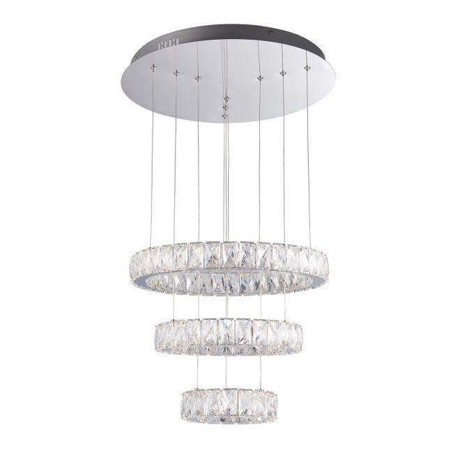 Designerska lampa wisząca Swayze 3 - Endon Lighting - LED