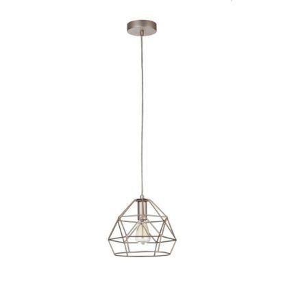 Druciana lampa wisząca Soprano - Maytoni - złoto, mat